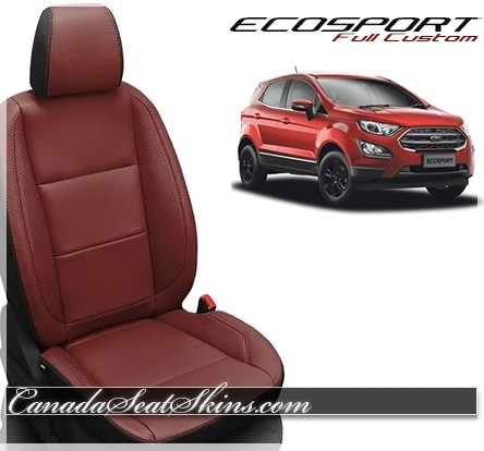 2018 - 2019 Ford Ecosport Katzkin Leather Seats