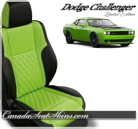 2015 - 2019 Dodge Challenger Katzkin Zkintech Leather Seats