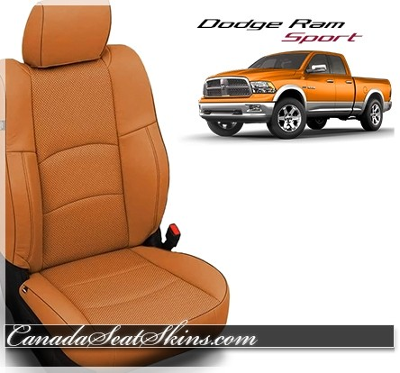 2009 - 2013 Dodge Ram Sport Custom Katzkin Leather Seats