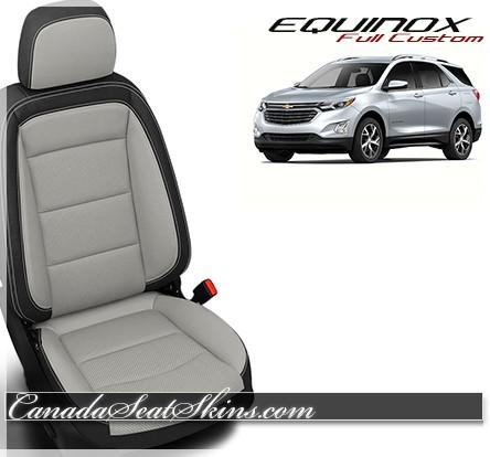 2018 - 2019 Chevrolet Equinox Custom Leather Upholstery