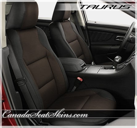 2010 - 2018 Ford Taurus Katzkin Coffee Leather Seats