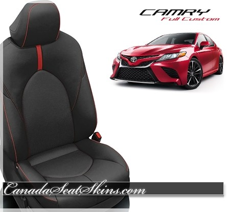2018 - 2020 Toyota Camry Custom Katzkin Leather Seats