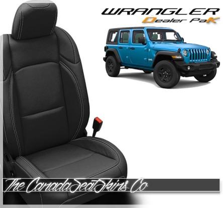 2018 - 2021 Jeep Wrangler Katzkin Leather Sale