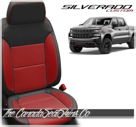 2019 - 2021 Chevrolet Silverado Custom Designer Leather Seats