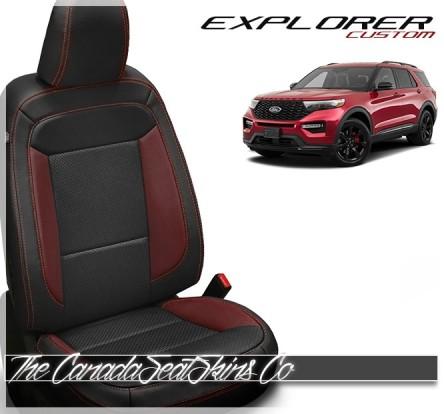 2020 - 2021 Ford Explorer Custom Leather Seats