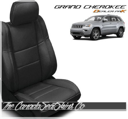 2011 - 2019 Jeep Grand Cherokee Katzkin Dealer Pak Leather Kits