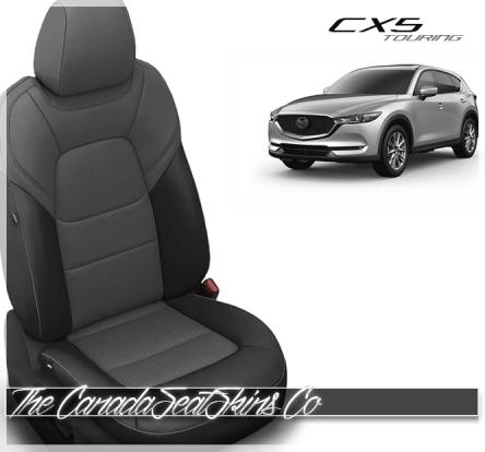2017 - 2020 Mazda CX5 Touring Custom Charcoal Grey Leather Seats