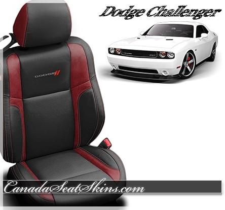 2015 - 2019 Dodge Challenger Katzkin Custom Leather Seats