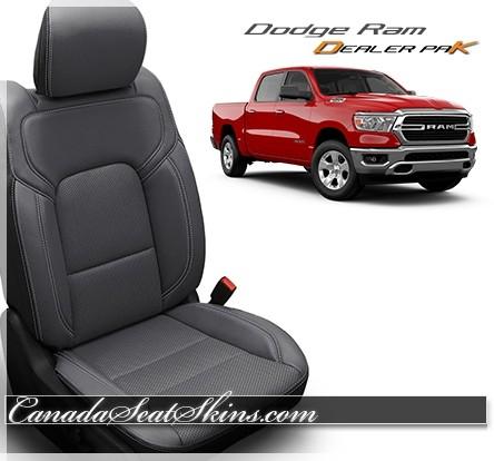 2019 - 2020 Dodge Ram Katzkin Leather Seat Promo Package Grey
