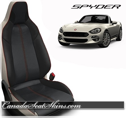 2016 - 2019 Fiat Spyder Custom Abarth Style Leather Upholstery