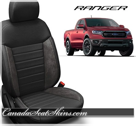 2019 Ford Ranger Custom Leather Upholstery