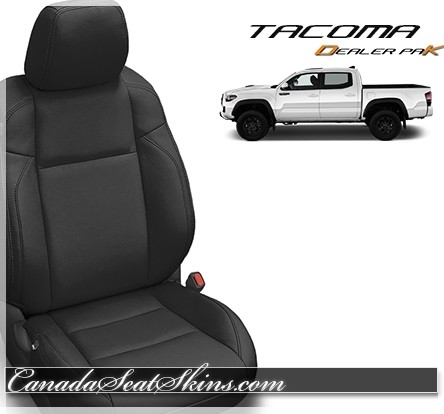 2016 - 2019 Toyota Tacoma Katzkin Black Leather Seat Sale