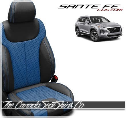 2020 - 2021 Hyundai Santa Fe Custom Katzkin Leather Seat Sale