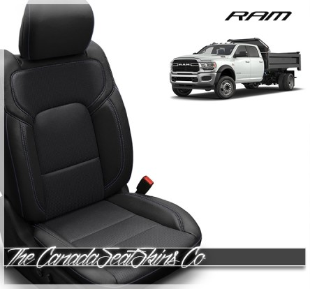 2019 - 2020 Dodge Ram DT Heavy Duty Clazzio Commercial Seat Covers