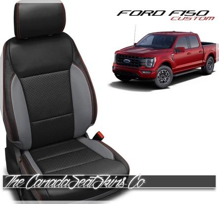 2021 Ford F150 Custom Katzkin Leather Seat Cover Sale