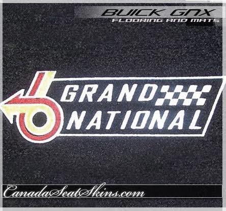 1984 - 1987 Buick Regal Grand National Replacement Carpet