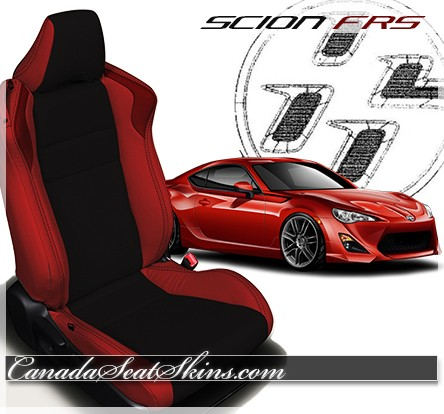 2013 - 2017 Scion FRS Katzkin Leather Seats Red