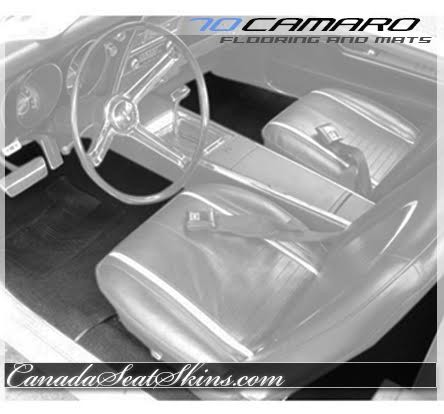1970 Camaro Custom Carpet and Floor Mats