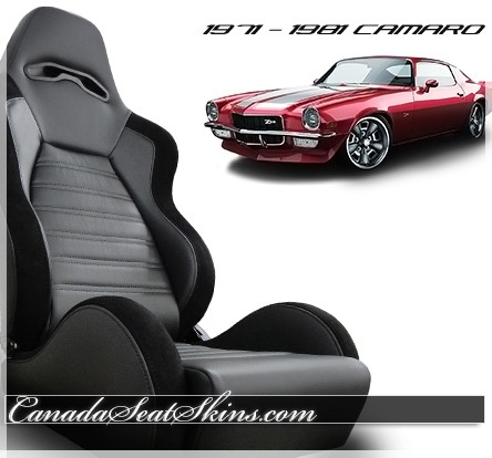 1971 - 1981 Camaro Villain Sport R Pro Series Bucket Seats