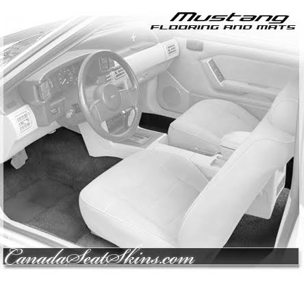 1979 - 1993 Ford Mustang Carpet Kit