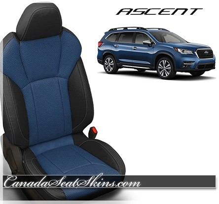 2019 - 2020 Subaru Ascent Custom Leather Upholstery Package Pacific
