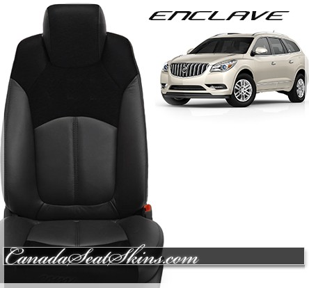 Buick Enclave Custom Katzkin Leather Seats