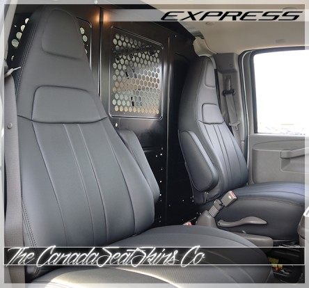 Chevrolet Express Cargo Commercial Grade Fitted Seat Covers