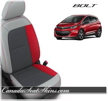 2017 - 2019 Chevrolet Bolt Katzkin Custom Leather Seats