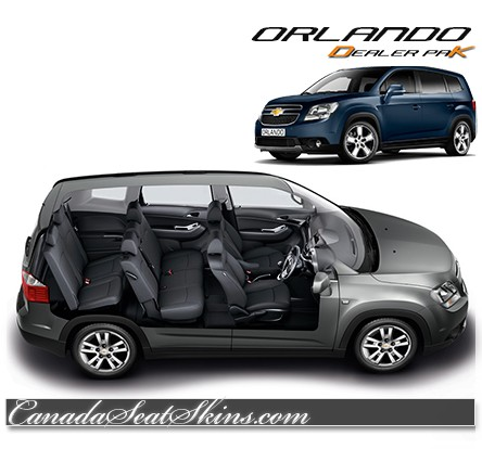 Chevrolet Orlando Katzkin Leather Seats