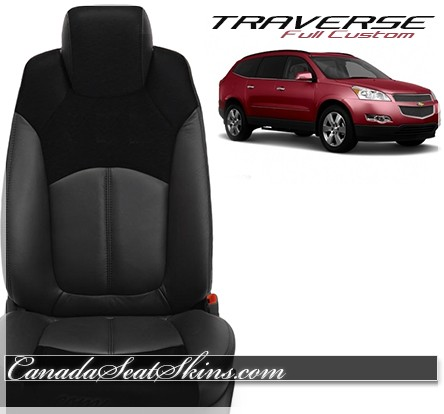2007 - 2017 Chevrolet Traverse Custom Katzkin Leather Seats