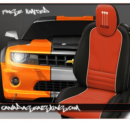2010 2015 chevrolet camaro chip foose leather upholstery