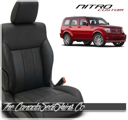 Dodge Nitro Katzkin Custom Leather Seat Sale