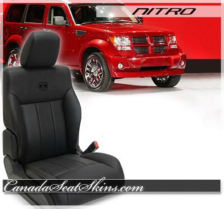 2007 - 2011 Dodge Nitro Custom Leather Seats