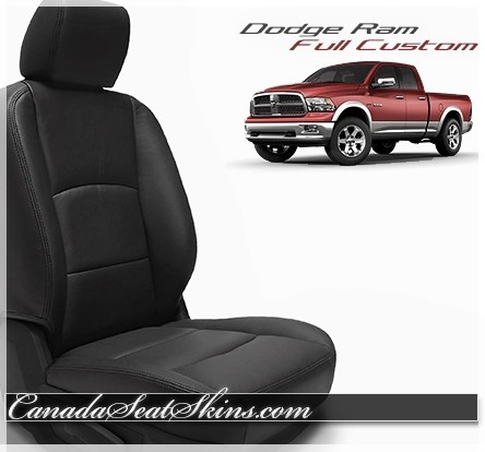 2009 - 2018 Dodge Ram Katzkin Custom Leather Seat Kits