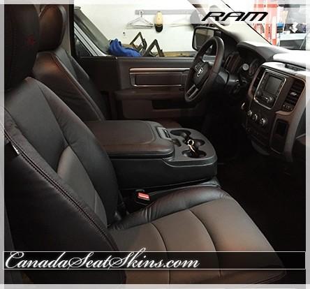2009 - 2018 Dodge Ram Custom Leather Upholstery