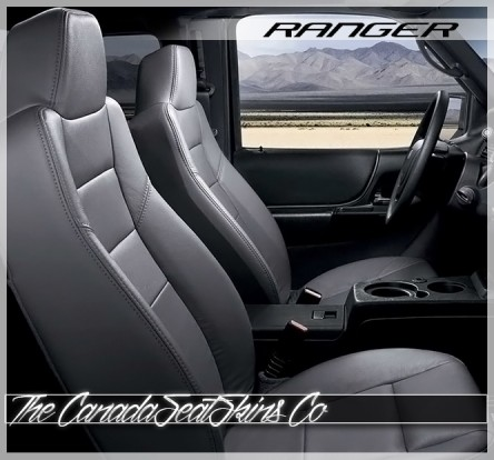 1993 - 2009 Ford Ranger Grey Katzkin Custom Leather Seat Sale