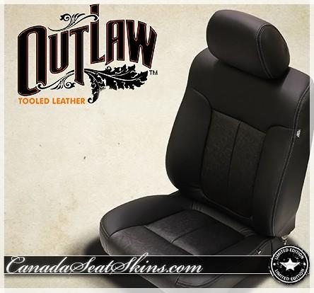 2011 - 2016 Ford F250 F350 Katzkin Outlaw Leather Seats