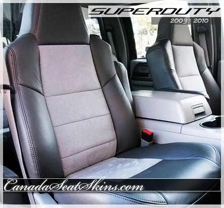Ford F250 F350 F450 F550 Katzkin Leather Seats Canada