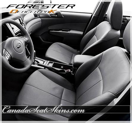2009 - 2013 Subaru Forester Leather Seat Kits