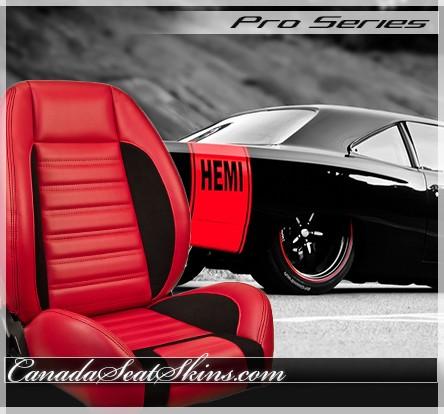 TMI Sport R Low Back Sport Restomod Bucket Seats