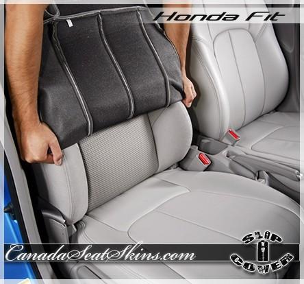 2007 - 2016 Honda Fit Clazzio Seat Cover Installation