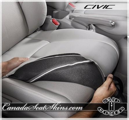 ... 2013   2015 Honda Civic Clazzio Seat Cover Installation ...