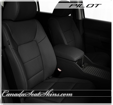 Honda Pilot Charcoal Leather Seats