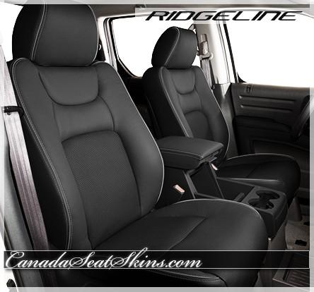 Honda Ridgeline Charcoal Leather Seats
