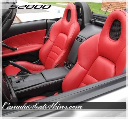 2000 - 2005 Honda S2000 Katzkin Custom Replacement Leather Seats