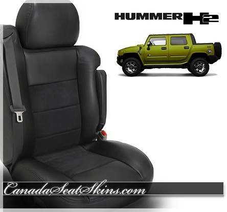 2005 2006 2007 2008 2009 Hummer H2T Katzkin Leather Seats