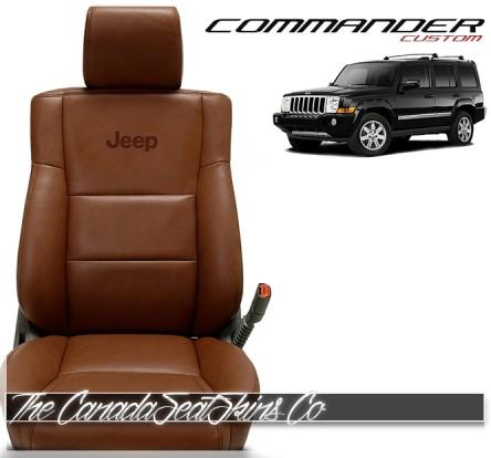 2006 - 2010 Jeep Commander Katzkin Custom Leather Seat Sale