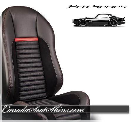 Pro Series Shelby Style Race Bucket Seats Red