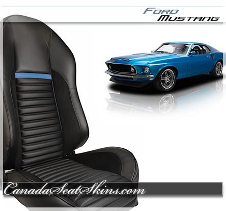 1964 - 1973 Mustang Mach 1 Sport R Restomod Seat