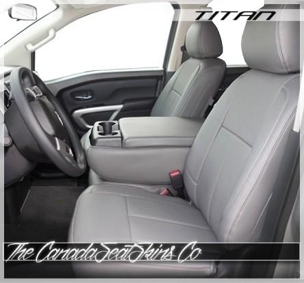 2016 - 2020 Nissan Titan XD Commercial Grade Fleet Clazzio Seat Covers